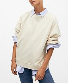 Women's Oversize Cotton Sweatshirt