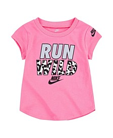 Toddler Girls Short Sleeve Tee