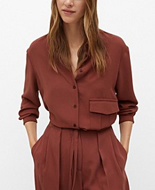 Women's Recycled Polyester Blouse