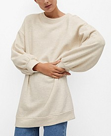 Women's Oversize Cotton Sweatshirt
