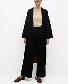Women's Fine-Knit Cardigan