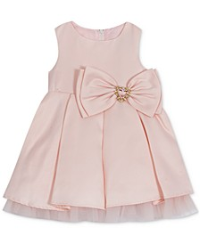 Baby Girls Satin Dress