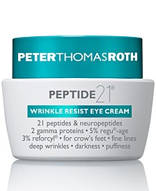 Peptide 21 Wrinkle Resist Eye Cream, 0.5-oz.