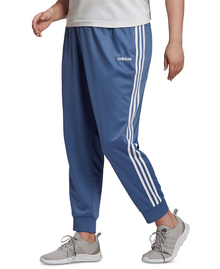 adidas - Plus Size Full-Zip Tricot Jogger Pants