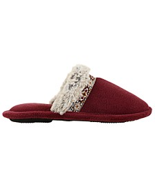 Isotoner Women's Microterry Zulu Comfort Clog Slippers