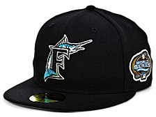 Florida Marlins World Series Patch 59FIFTY Cap