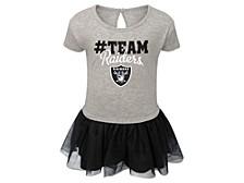 Toddler Las Vegas Raiders Game Dress