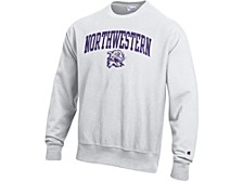 Northwestern Wildcats Men's Vault Reverse Weave Sweatshirt