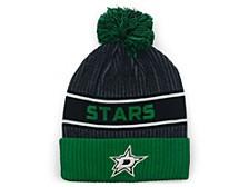 Dallas Stars 2020 Locker Room Pom Knit Hat
