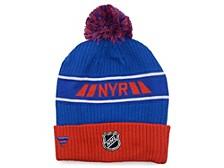 New York Rangers 2020 Locker Room Pom Knit Hat