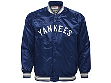 New York Yankees Youth Colorblocked Satin Jacket