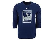 Men's New York Yankees Iconography Long-Sleeve T-Shirt