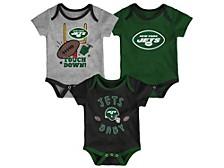 New York Jets Newborn Champ 3 Piece Set