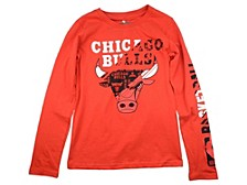 Youth Chicago Bulls Swerve Long-Sleeve T-Shirt