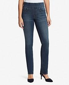 Women's Theadora Straight Pull On Jeans
