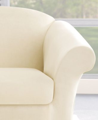 Sure Fit Stretch Plush 2-Piece Slipcover Collection - Slipcovers ... 79595635e4