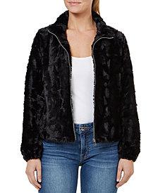 Numero Faux-Fur Zip-Front Jacket