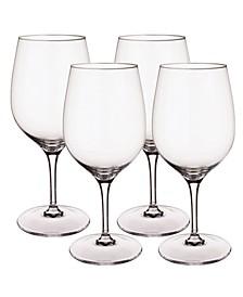 Entrée Red Wine Claret Stems,  Set of 4