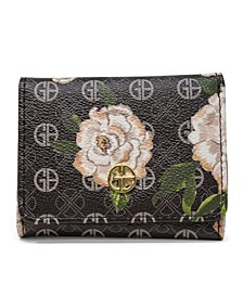 Floral Signature Trifold Wallet, Created for Macy's