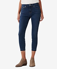 Bridgette Straight-Leg Ankle Jeans