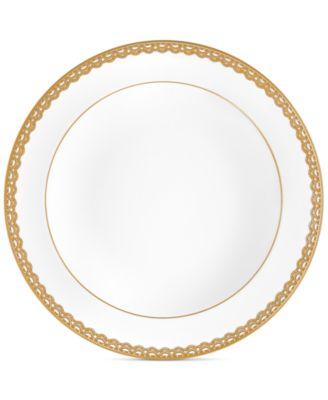 Lismore Lace Gold Rim Soup Bowl