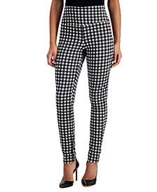 INC Gingham Leggings, Created for Macy's