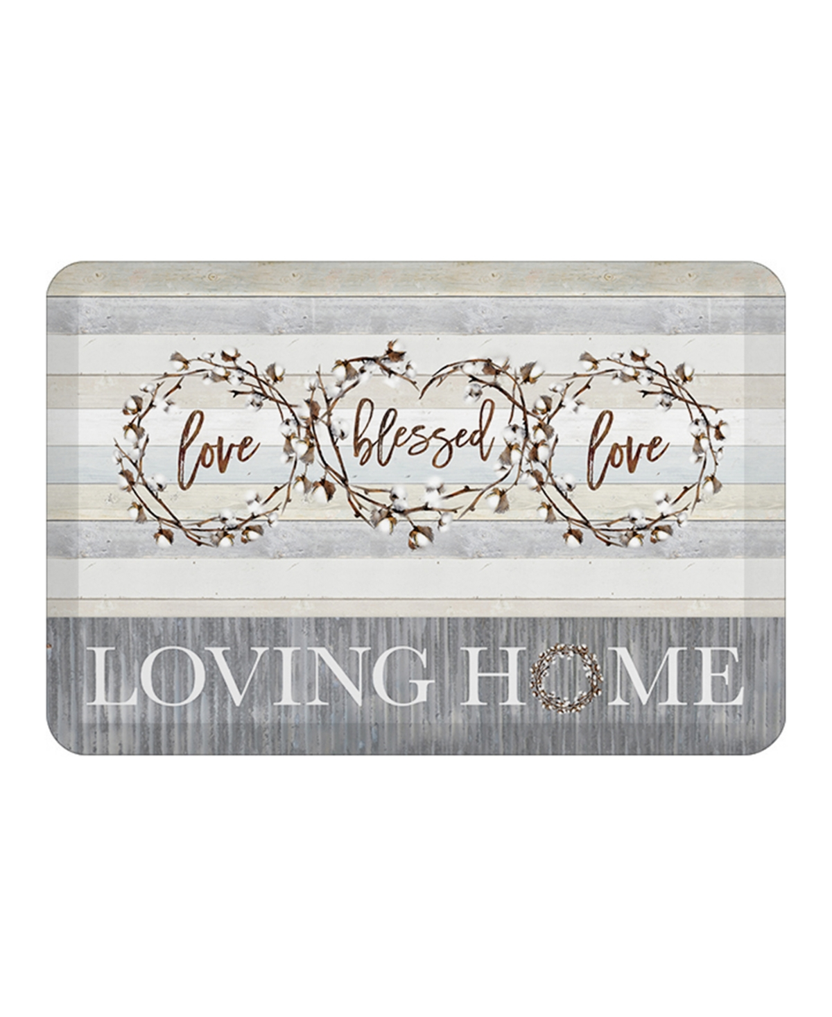 Laural Home Loving Home Kitchen Mat