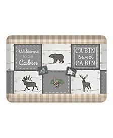 Cabin Living Kitchen Mat