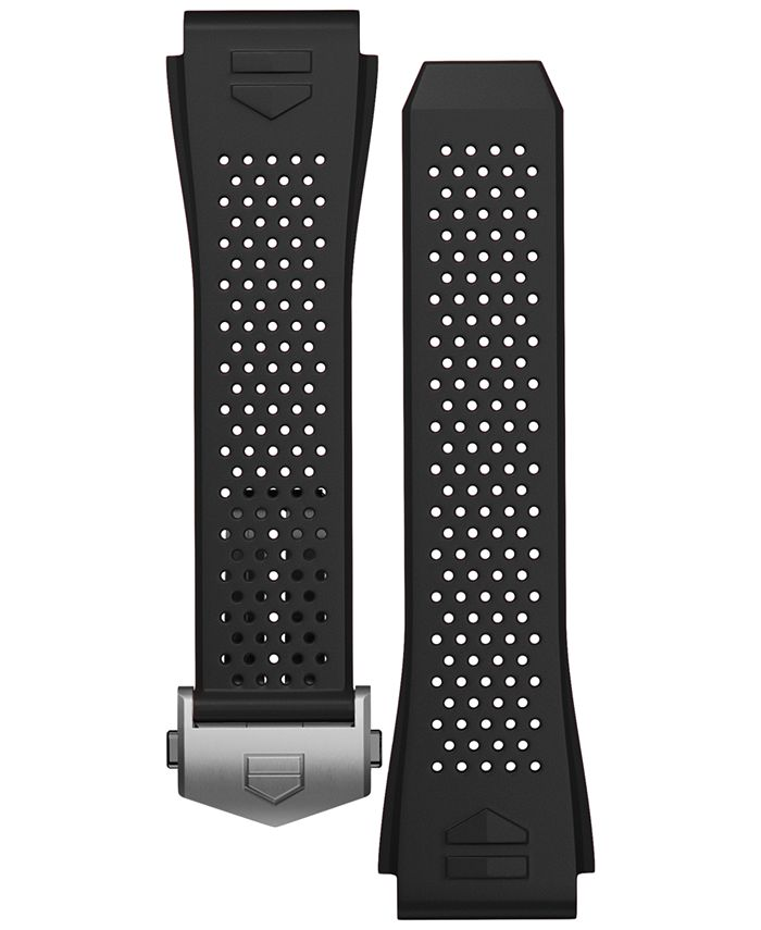 TAG Heuer - Men's Connected Swiss Interchangeable Black Rubber Strap Watch 45mm