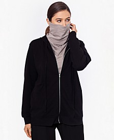 Zippered Hoodie with Removable Mask, Created for Macy's