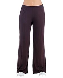 Women's Plus Size Palazzo Lounge Pants