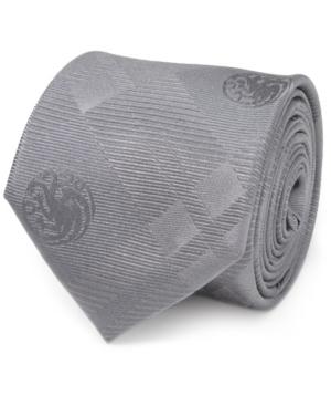 Men's Targaryen Dragon Plaid Tie