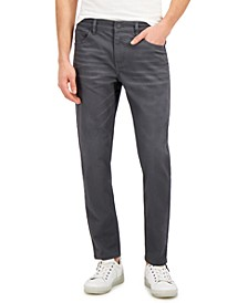 INC Men's Gray Tapered Jeans, Created for Macy's