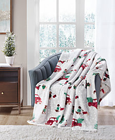 "Cozy Plush 50"" x 70"" Throw, Created for Macy's"