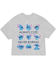 Love Tribe Juniors' Plus-Size Stitch Graphic T-Shirt