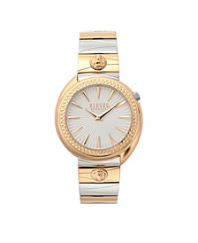 Women's Quartz Tortona Two Tone Stainless Steel Bracelet Watch 38mm