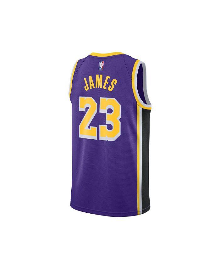 Men's Los Angeles Lakers Statement Swingman Jersey - LeBron James