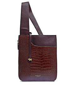 Pockets Medium Zip Around Crossbody