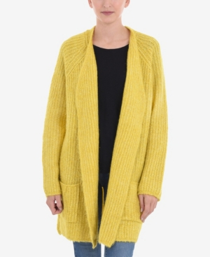 Long Sleeveline Cardigan With Pocket Detail