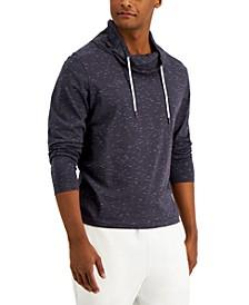 Men's Regular-Fit Textured Cowl-Neck Sweatshirt , Created for Macy's