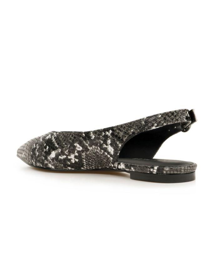 Rampage Women's Blaine Slingback Flats & Reviews - Flats - Shoes - Macy's