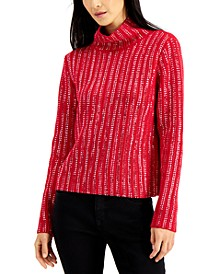 INC Embellished Turtleneck Sweater, Created for Macy's