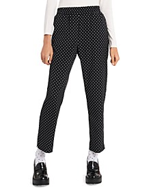 Louisa Pull-On Polka-Dot Pants, Created for Macy's