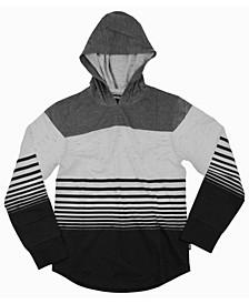 Big Boys Julian Striped Jersey Pullover Hoody