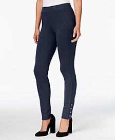 Snap-Hem Leggings, Created for Macy's