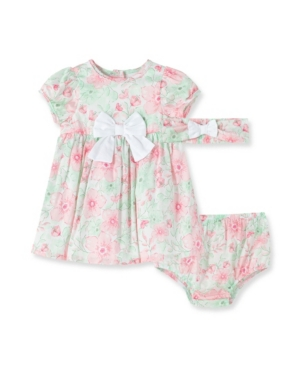 Little Me BABY GIRL FLOURISH DRESS WITH PANTY
