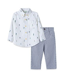 Baby Boys Golf Woven Pant Set