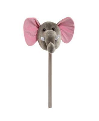 Ponyland Plush Action Elephant Stick with Music