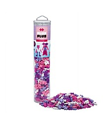 - 240 Piece Glitter Mix - Open Play Tube - Construction Building Steam Toy
