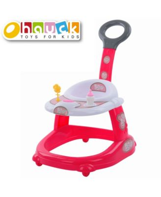 """Hauck 14"""" Toy Baby Doll and Mobile Walker with Lights and Sound"""